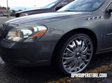 2009 buick lucerne 22 inch lorenzo wl29 wheels chrome