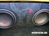 2005 ford mustang suede trunk audio enclosure